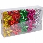Набор бантов подарочных 8 см цветные 30шт