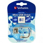 Флешка USB 2.0 8Gb Verbatim Store'n'go MINI WATER