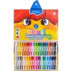 Восковые карандаши 36 цветов, 1100/ОР-36СВ MARCO