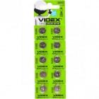 "Батарейка Videx ""таблетка"" AG 10"