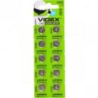 "Батарейка Videx ""таблетка"" AG 12"