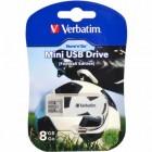 Флешка USB 2.0 8Gb Verbatim Store'n'go MINI FOOTBAL