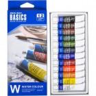 Краски 12мл BASICS, 12 цветов