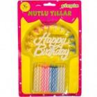 "Свечки для торта ""Happy Birthday"""
